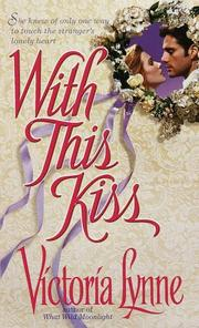 Cover of: With this Kiss by Victoria Lynne
