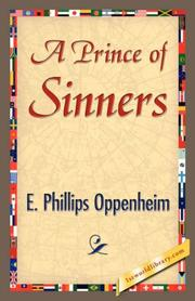 Cover of: A Prince of Sinners | E. Phillips Oppenheim