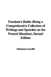 Cover of: Freedom's Battle by Mohandas Karamchand Gandhi