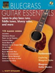 Cover of: BLUEGRASS GUITAR ESSENTIALS  BK/CD (Acoustic Guitar's Private Lessons) | Scott Nygaard