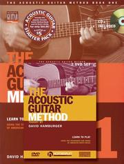 Cover of: Acoustic Guitar Method by David Hamburger