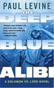 Cover of: The Deep Blue Alibi | Levine, Paul