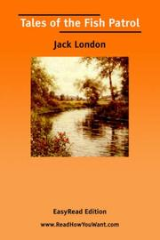 Cover of: Tales of the Fish Patrol by Jack London