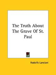 Cover of: The Truth About the Grave of St. Paul by Rodolfo Lanciani