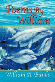 Cover of: POEMS BY WILLIAM by William A. Banks