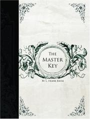 Cover of: The Master Key by L. Frank Baum