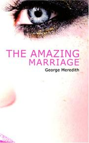 Cover of: The Amazing Marriage | George Meredith