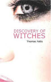 Cover of: Discovery of Witches | Thomas Potts