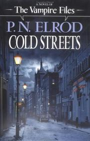 Cover of: Cold streets | P. N. Elrod