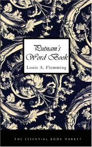 Cover of: Putnam\'s Word Book | Louis A. Flemming