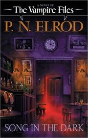 Cover of: Song in the dark | P. N. Elrod