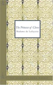 Cover of: The Princess of Cleves | Madame de La Fayette