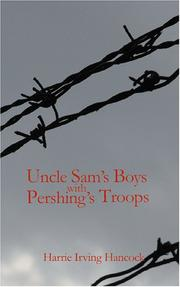 Cover of: Uncle Sam's Boys with Pershing's Troops | Harrie Irving Hancock