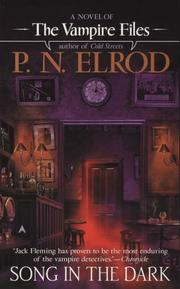 Cover of: Song In The Dark (Vampire Files) | P. N. Elrod