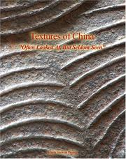 Cover of: Textures Of China | Mark Steven Wong