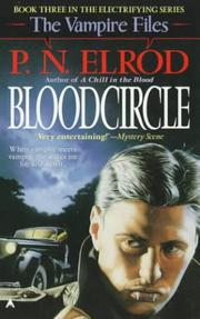 Cover of: Bloodcircle (The Vampire Files, No 3) | P. N. Elrod