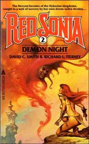 Cover of: Demon Night (Red Sonja, No 2) | please see David Clayton Smith