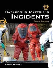 Cover of: Hazardous Materials Incidents by Christopher David Hawley