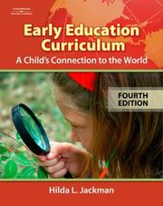Cover of: ^ Early Childhood Curriculum | Hilda Jackman