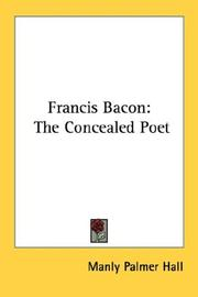 Cover of: Francis Bacon by Manly Palmer Hall