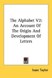Cover of: The Alphabet V2 | Isaac Taylor