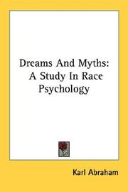 Cover of: Dreams And Myths | Karl Abraham
