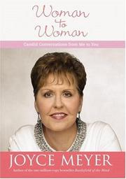 Cover of: Woman to Woman | Joyce Meyer