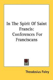 Cover of: In the spirit of Saint Francis | Theodosius Foley
