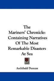 Cover of: The Mariners' Chronicle by Archibald Duncan