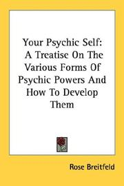 Cover of: Your psychic self by Rose Breitfeld