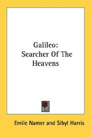 Cover of: Galileo | Émile Namer