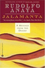 Cover of: Jalamanta | Rudolfo Anaya