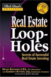 Cover of: Real Estate Loopholes | Garrett Sutton