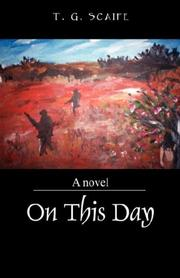 Cover of: On This Day by T G Scaife