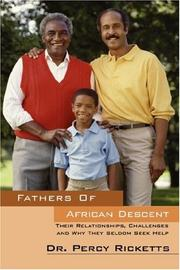 Cover of: Fathers of African Descent by Dr Percy Ricketts