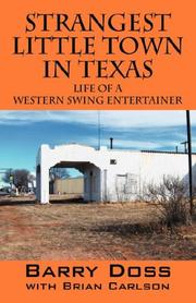 Cover of: Strangest Little Town in Texas | Barry Doss