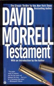 Cover of: Testament | David Morrell