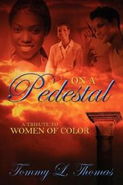 Cover of: On a Pedestal | Tommy L Thomas