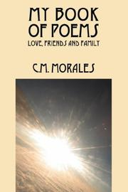 Cover of: My Book of Poems | C M Morales