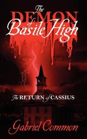 Cover of: The Demon of Basile High | Gabriel Common