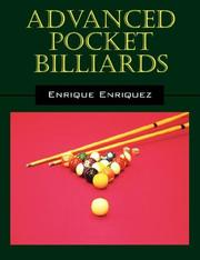 Cover of: Advanced Pocket Billiards by Rick Enriquez