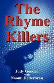Cover of: The Rhyme Killers | Judy Gooden