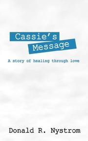 Cover of: Cassie's Message by Donald R Nystrom