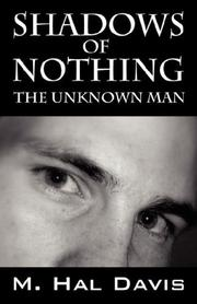 Cover of: Shadows of Nothing by M Hal Davis