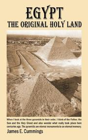 Cover of: Egypt the Original Holy Land | James Cummings