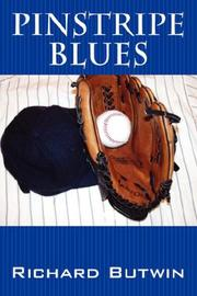 Cover of: Pinstripe Blues | Richard Butwin