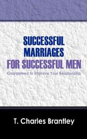 Cover of: Successful Marriages for Successful Men | T Charles Brantley