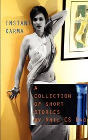 Cover of: Instant Karma | Anil CS Rao