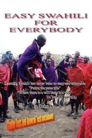 Cover of: EASY SWAHILI FOR EVERYBODY | ORKUN ATES