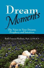 Cover of: Dream Moments | Ruth Frances Hoskins PhD LCSW BCD